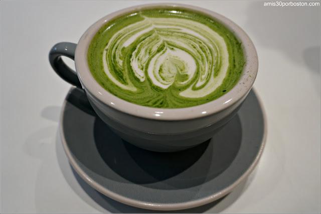 Saltwater Coffee: Matcha Latte