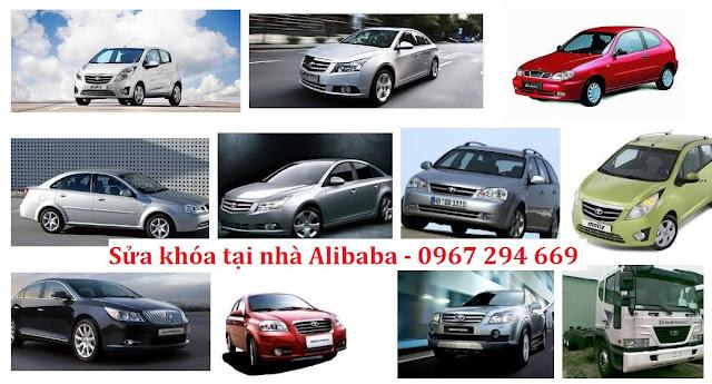 Dịch vụ sửa khóa xe hơi Daewoo uy tín chuyên nghiệp
