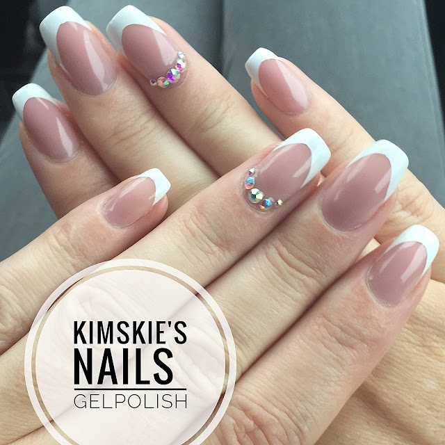 KimsKie\'s Nails: Square White French Manicure...