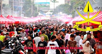 Senarai Bazar Ramadhan Pahang 2019 (Lokasi)