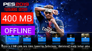 Download PES 2019 PPSSPP 400 MB ISO Offline di Android Terbaru