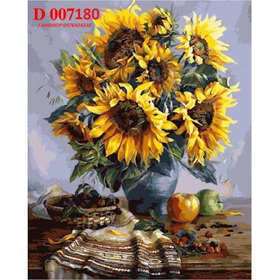Tranh son dau so hoa D007180