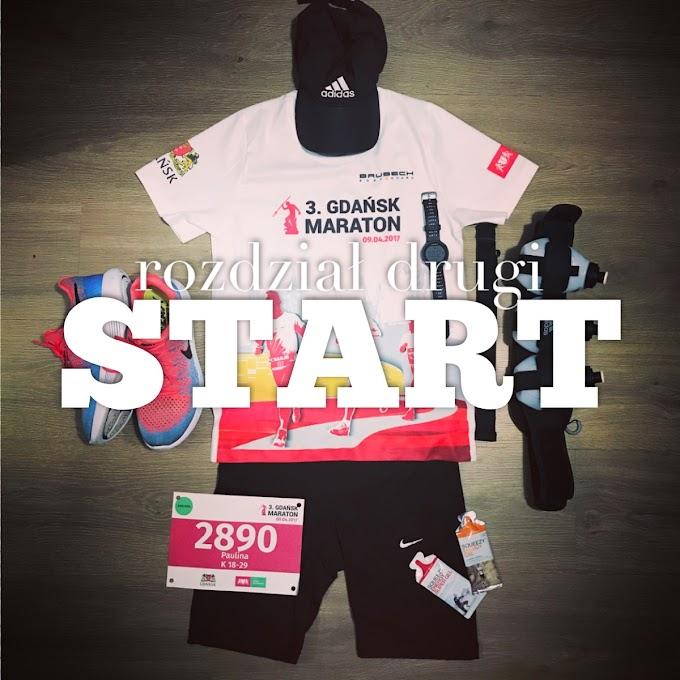 Mój Pierwszy Maraton rozdział drugi- start