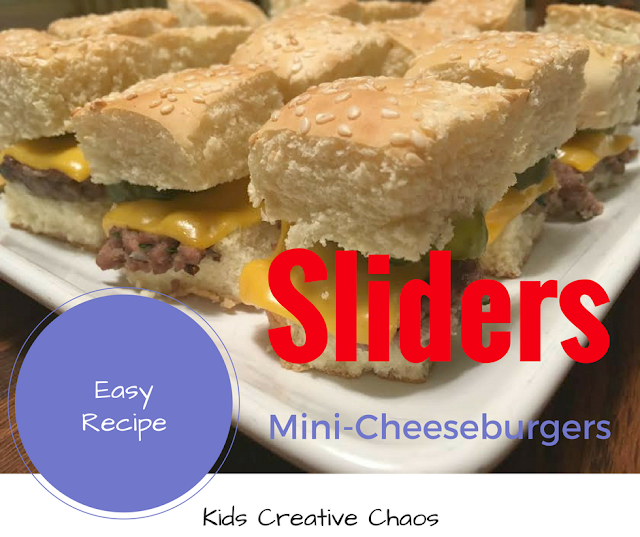 How to make mini cheeseburger sliders recipe