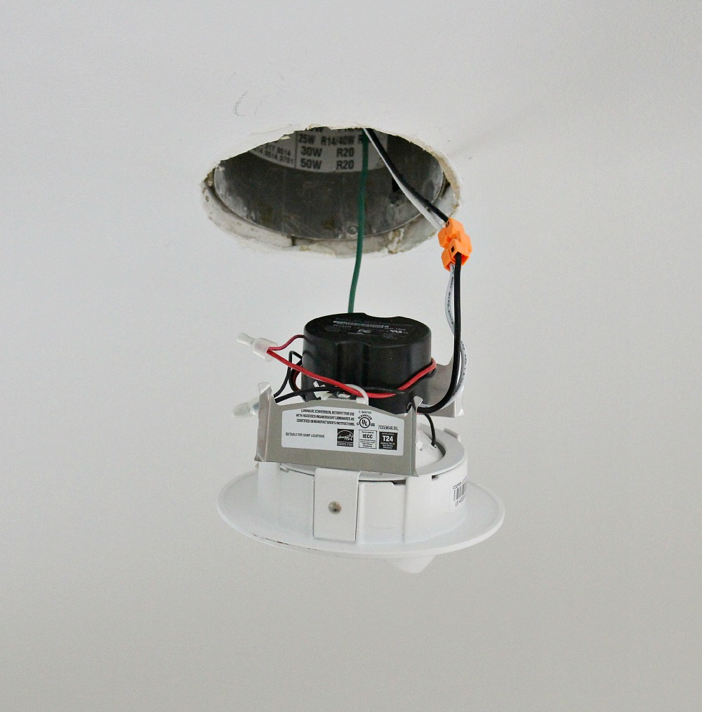 hight resolution of fast and easy way to update pot light