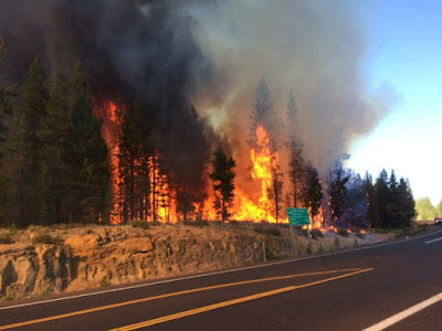 One concern along eclipse path: Wildfires- KOIN6