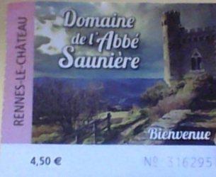 biglietto rennes le chateau