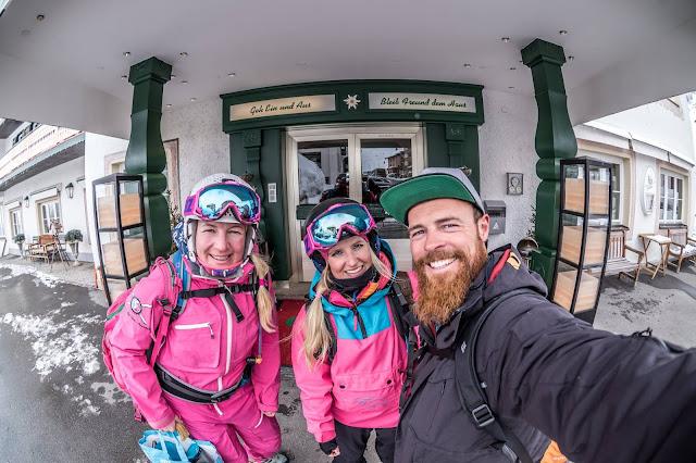 Skifahren mit Freeride Inc. Austria