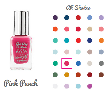 b172f9645bb Its a beautiful bight fusia pink that leaves your nails in a extra glossy  shine in just one coat.
