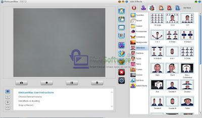 WebcamMax software webcam terbaru untuk semua webcam untuk video call