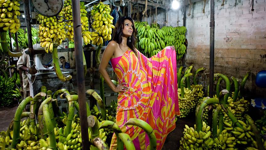 Top 15 Stunning Kitchen Design Ideas Plus Their Costs: Batik Print Sarees