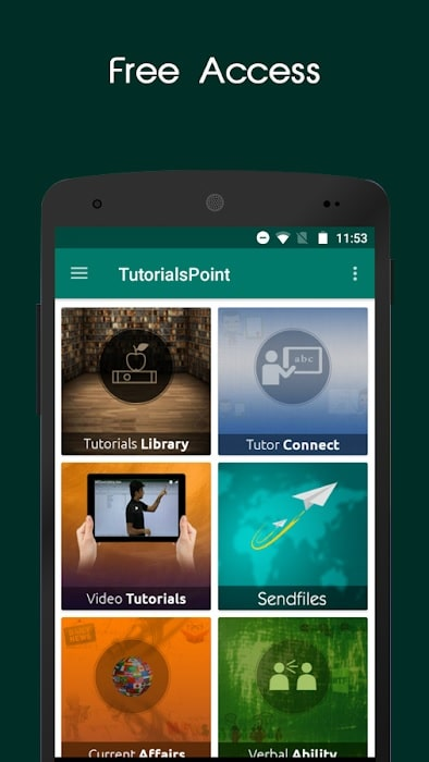 Apps for students TutorialsPoint app
