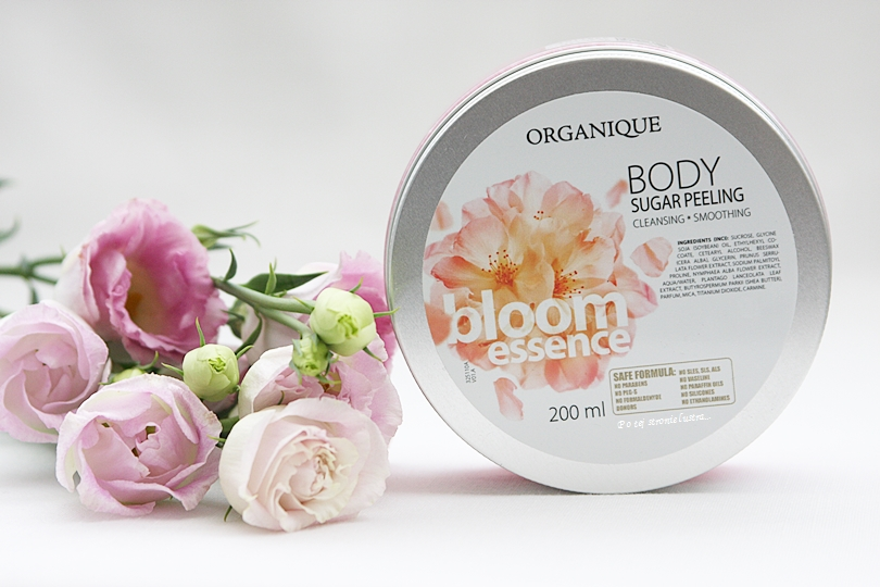 Peeling cukrowy Organique Bloom Essence