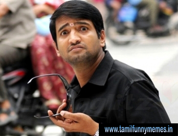 tamil santhanam funny reaction
