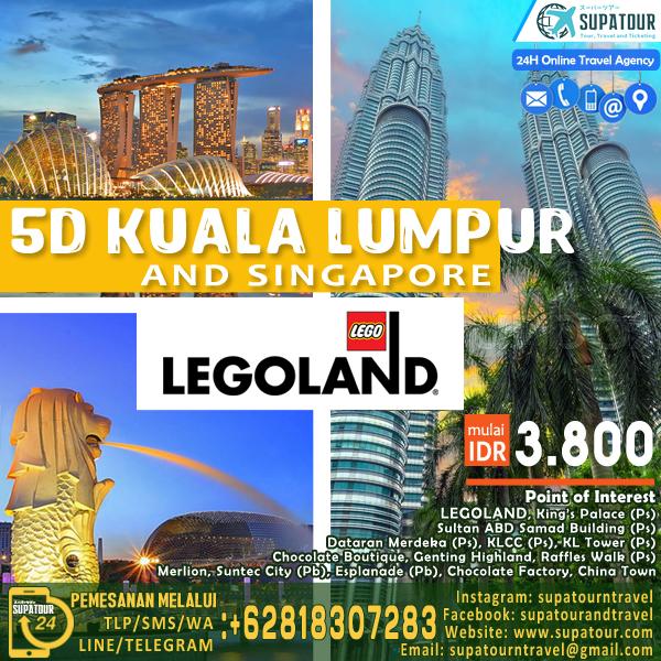 5D Malaysia,KL,Genting+Singapore