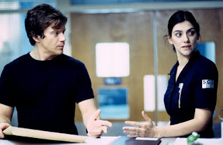 Rob (Max Beesley) and Donna (Neve McIntosh)