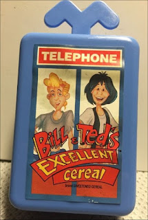 Bill and Ted's Cereal Cassette Tape Cases Premiums