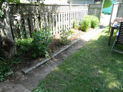 Riverdale Toronto backyard garden cleanup after by Paul Jung Gardening Services