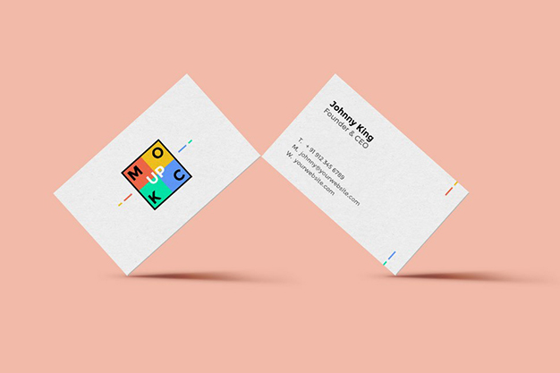 free business card mockup, free mockup