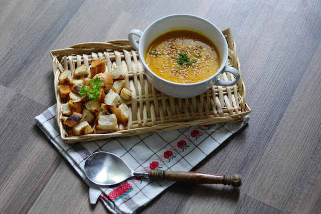 Dýňova polévka