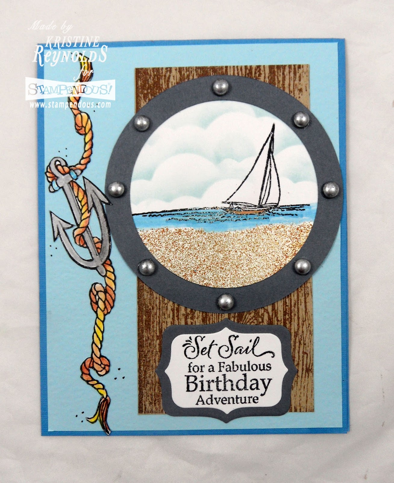 Stamping & Scrapping In California: Set Sail