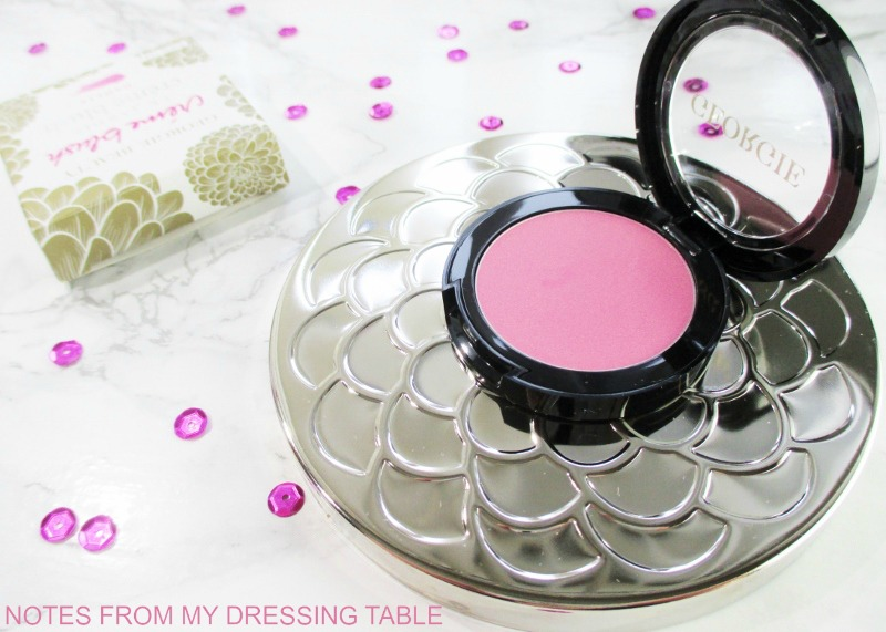Georgie beauty le jardin creme blush in dahlia my notes for Table jardin beauty