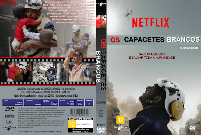 Capa DVD Os Capacetes Brancos