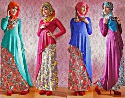 Baju muslim wanita yang moderen di tahun 2015