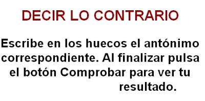 Resultado de imagen de DECIR LO CONTRARIO EDUCAREX