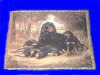 Gordon Setter Blanket Throw Tapestry