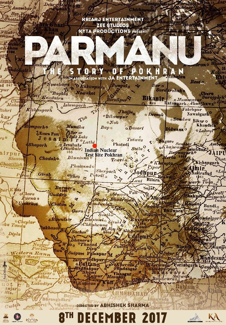 """Parmanu - The Story of Pokhran"" First Look Poster"