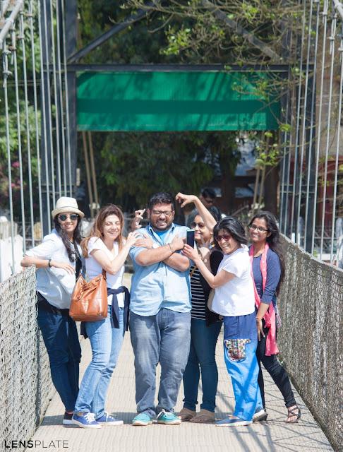The Big Bhookad posing in Guwahati Assam