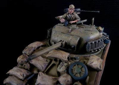 Rubicon M4 Sherman, USMC, M4A3, Stowage, Crew