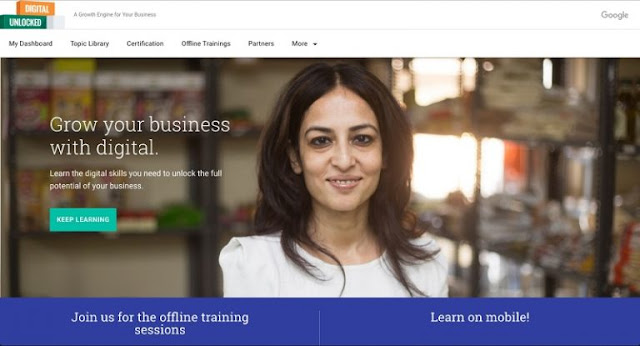 Google India Unveils Digital Unlocked Training, My Business Websites for SMBs