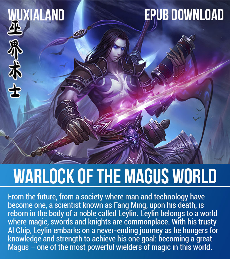 Warlock of The Magus World EPUB cover, download wmw epub wuxia epub complete