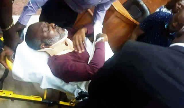 Olisah Metuh Purposely Slumps On His Own, says Judge