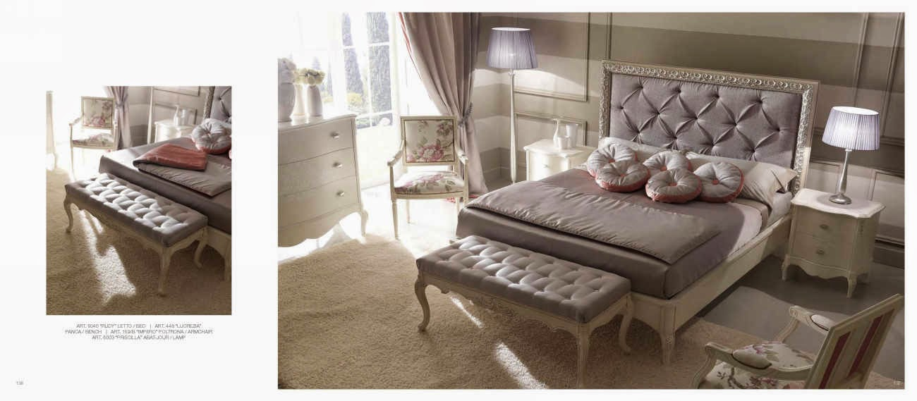 Design interior mobila dormitor de lux Italia - Design Interior | Amenajari interioare - Bucuresti | Mobila Italia - mobila - dormitor - lux - italia - pat - Rudy - preturi