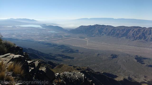 Vista, dique, Ullum, Sierra de Marquesado, Sierra Chica de Zonda