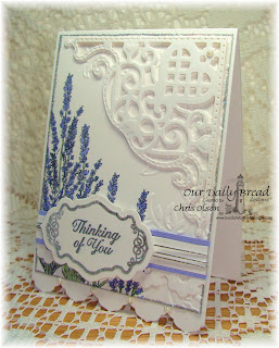 Stamps - Our Daily Bread Designs Lavender, Ornate Borders Sentiments, Joy in a Jar, ODBD Custom Antique Labels & Border Dies, ODBD Custom Decorative Corners Dies