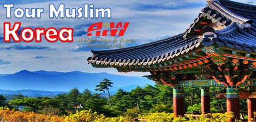 Paket Tour Korea Selatan 2017 Wisata Muslim Halal !