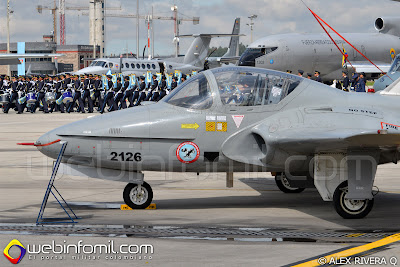 T-37 tweet colombian air force