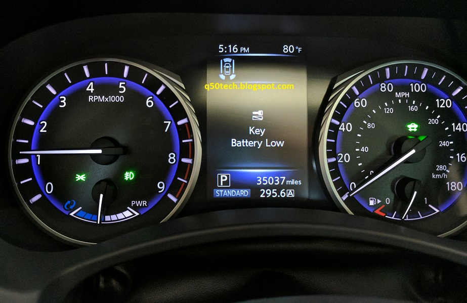 Awesome That The Car Detects Key Fob Battery Level