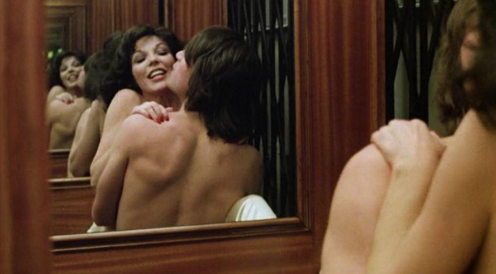 Joan collins sex scene
