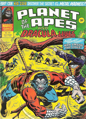 Marvel UK, Planet of the Apes #107