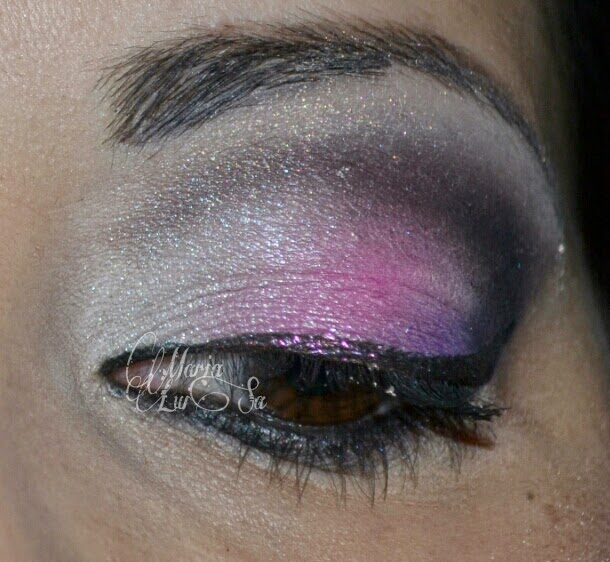 make up rosa e viola sleek acid