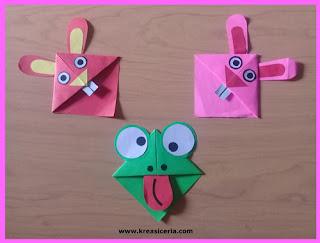 Ide Kreatif Membuat Origami Pembatas Buku