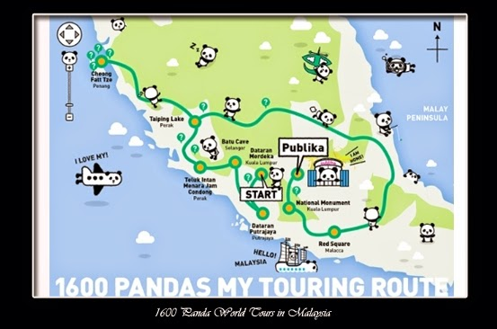 1600 Panda, pandas, malaysia, WWF, Paulo Grangeon, Batu Caves, Publika Shoppng Mall, 1600 Panda World Tours