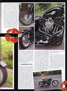 sportster all black on freeway magazine italia n 18 del 1995 pag 4