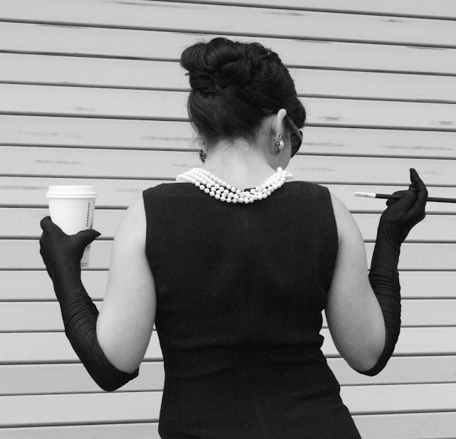Breakfast at Tiffany's DIY Costume