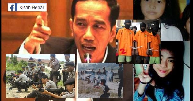 Presiden Indonesia Jokowi Arah Tembak Mati Pesalah Kes Rogol Bawah Umur